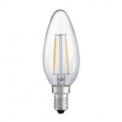 LEDlife FILA2.2 - LED pære, 2,2W, 230V, E14