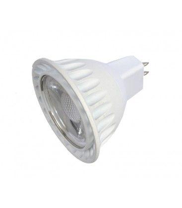 LEDlife LUX2 LED spotpære - 2W, dimbar, 12V, MR16 / GU5.3