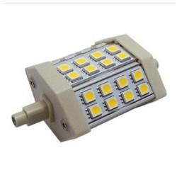 LED pære til lyskaster - 5W, kald hvit, R7S