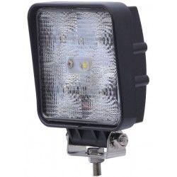 kjøretøy flomlys 15W LED arbeidslys - Bil, lastebil, traktor, trailer, utrykningskjøretøyer, kald hvit, 12V / 24V