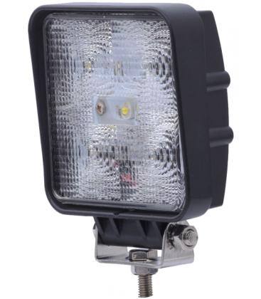 15W LED arbeidslys - Bil, lastebil, traktor, trailer, utrykningskjøretøyer, kald hvit, 12V / 24V