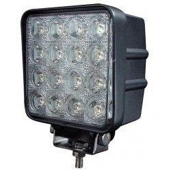 Lyskastere til kjøretøy 48W LED arbeidslys - Bil, lastebil, traktor, trailer, utrykningskjøretøyer, kald hvit, 12V / 24V