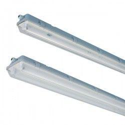 Uten LED - Lysrør armatur Vento LED T8 armatur - 1x 60 cm rør, IP65 armatur
