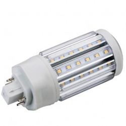 LEDlife GX24Q LED pære - 11W, 360°, varm hvit, mattert