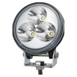 Lyskastere til kjøretøy 9W LED arbeidslys - Bil, lastebil, traktor, trailer, utrykningskjøretøyer, kald hvit, 12V / 24V