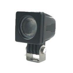 kjøretøy flomlys 10W LED arbeidslys - Bil, lastebil, traktor, trailer, utrykningskjøretøyer, kald hvit, 12V / 24V