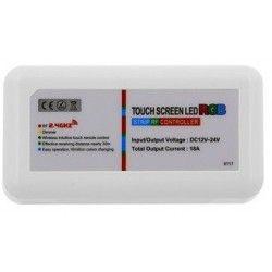 12V RGB RGB kontroller uten fjernkontroll - 12V / 24V, RF trådløs, 220W