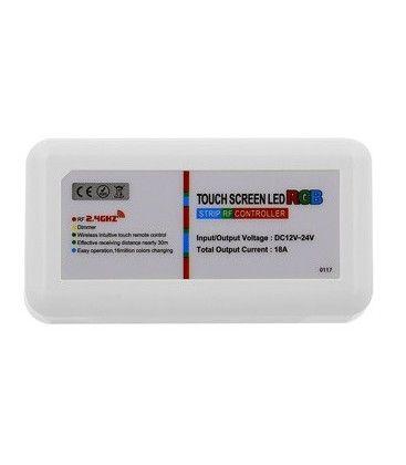 RGB kontroller uten fjernkontroll - 12V (216W), 24V (432W), RF trådløs