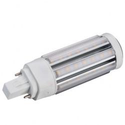 GX24D LED pære - 5W, 360°, varm hvit, mattert