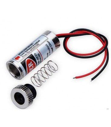 Rød punkt laserpointer - 5mW, 3-6 Volt