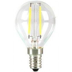 E14 LED Ledlife 2W LED krone pære - Karbon filamenter, P45, varm hvit, E14