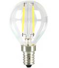 Ledlife 2W LED krone pære - Karbon filamenter, P45, varm hvit, E14
