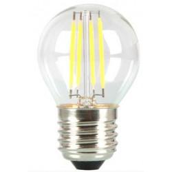 E27 LED V-Tac 4W LED kronepære - Karbon filamenter, E27