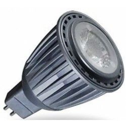 MR16 GU5.3 LED V-Tac 7W MR16 LED sharp COB pære - Fokusert 38 grader, 380lm, 12V