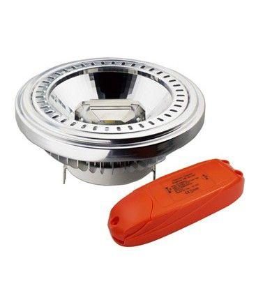 V-Tac 15W dimbar LED pære - Varm hvit, 230V, G53 AR111