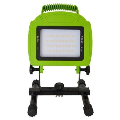 V-Tac V-Tac LED Lyskaster 20W 12V/230V - Bærbar Oppladbart