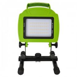 Lyskastere V-Tac LED lyskaster 20W - 12V/230V, bærbar, oppladbart