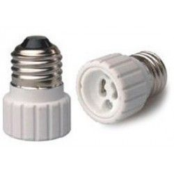 E27 LED E27 til GU10 adapter