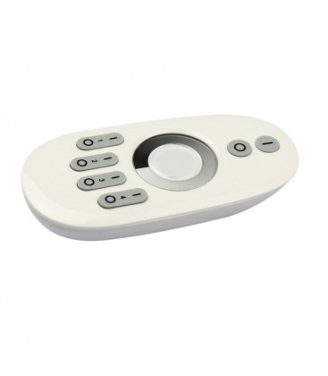 Fjernkontroll til trådløs dimmer - Uten controller, RF trådløs, 12V (96W), 24V (192W)