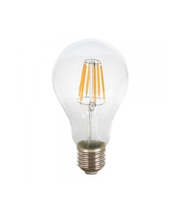 V-Tac 8W LED pære - Karbon filamenter LED, E27