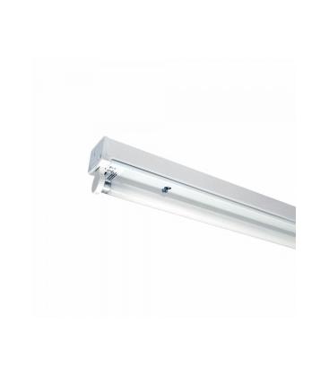 V-Tac åpen T8 LED armatur - Til 1x 60 cm LED rør, IP20 innendørs
