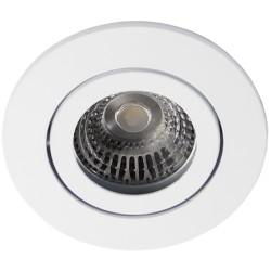 Daxtor Alu line downlight - Matt hvit, med GU10 strekkavlaster, utendørs