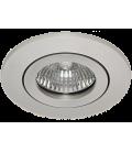 Daxtor Alu line downlight - Alu, til utendørs med GU10 plast spacer