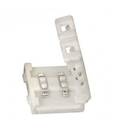 Skjøtestykke til 5050 LED strip - Enkelt farge (1 cm)
