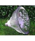 LED 12W vekstlampe, E27, Grow lamp