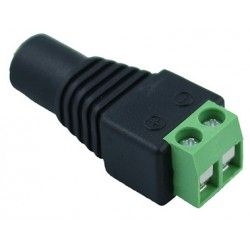 12V RGB DC hunnplugg - Med skrukobling, max 60W