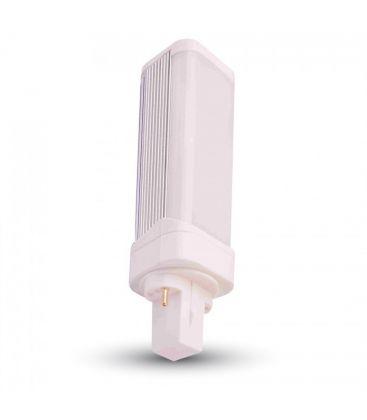 V-Tac G24D LED pære - 6W, 120°, mattert, roterbar