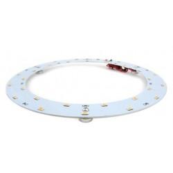 2D kompakt lysrør LED innsats 12W - Ø14,2 cm, Erstatt sirkulære rør og kompakt rør