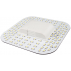 8W 2D LED - 2D sokkel, GR8q 2pin, varm hvit
