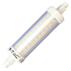 V-Tac R7S LED pære - 118mm, 7W, 230V, R7S