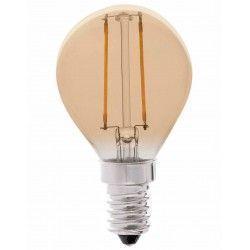 E14 LED LEDlife 2W LED kronepære - Dimbar, karbon filamenter, røkt glass, ekstra varm, E14