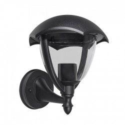 Vegglamper V-Tac svart vegglampe - IP44 utendørs, E27 fatning, uten lyskilde