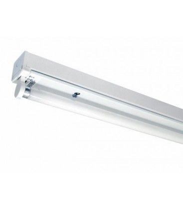 V-Tac åpen T8 LED armatur - Til 1x 150 cm, IP20 innendørs