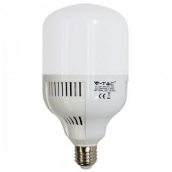 E27 LED V-Tac 30W LED kolbe pære - 2700lm, E27