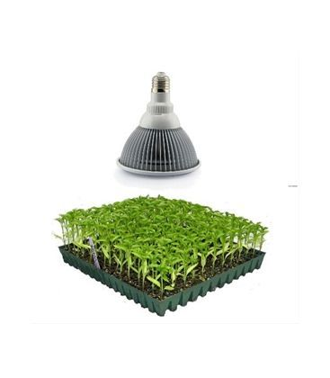 LED 12W vekstlampe, E27, Grow lamp