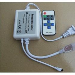 Trådløs dimmer med fjernkontroll - 230V, minnefunksjon, infrarød