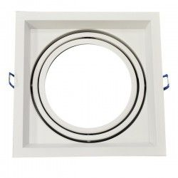 V-Tac downlight - Hvit, 17,5 x 17,5 cm, G53 AR111
