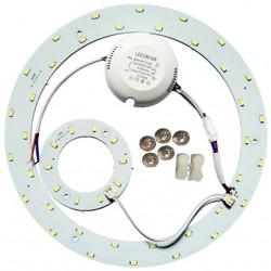 LED lysrør 23W LED innsats - Ø25,1 cm, erstatt sirkelrør og kompaktrør