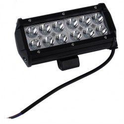 kjøretøy flomlys 36W LED arbeidslys - Bil, lastebil, traktor, trailer, utrykningskjøretøyer, kald hvit, 12V / 24V