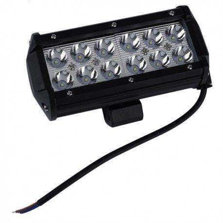 36W LED arbeidslys - Bil, lastebil, traktor, trailer, utrykningskjøretøyer, kald hvit, 12V / 24V
