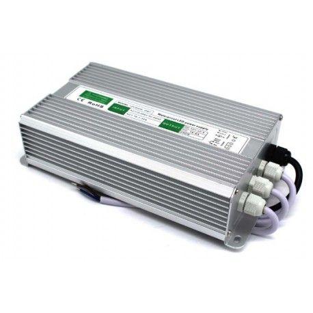 200W strømforsyning - 12V DC, 16,6A, IP67 vanntett