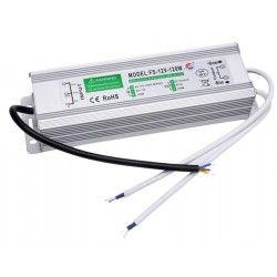 12V RGB 120W strømforsyning - 12V DC, 10A, IP67 vanntett