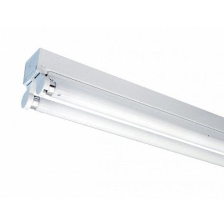 V-Tac åpen T8 LED armatur - 2 x 120cm, IP20