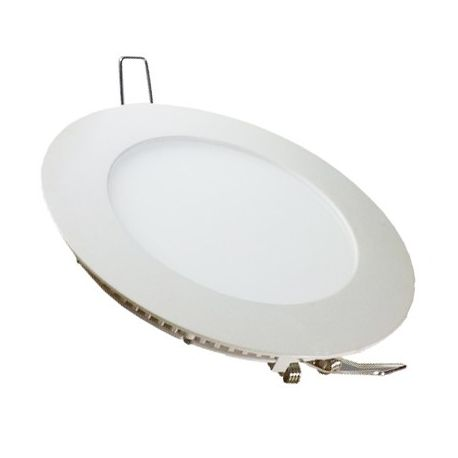 V-Tac 24W LED panel downlight - Hull: Ø28,5 cm, Mål: Ø30 cm, 230V