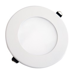 V-Tac 8W LED panel downlight - Hull: Ø12,5 cm, Mål: Ø14,5 cm, uten driver