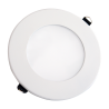 V-Tac 8W LED panel downlight - Hull: Ø12,5 cm, Mål: Ø14,5 cm, uten driver